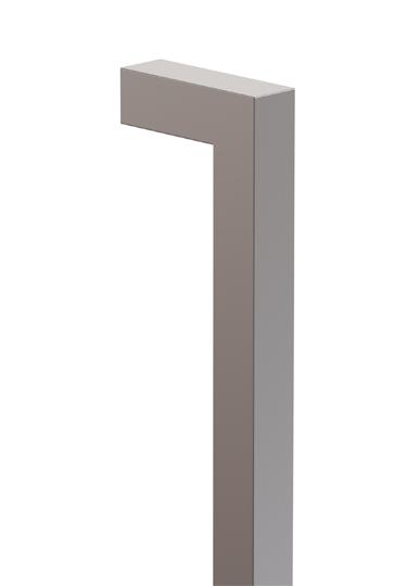 incasa FP024 Square D Pull Handle -