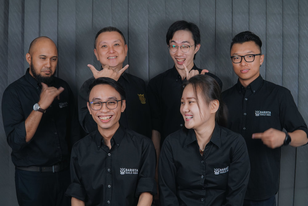 Hello from Team BGA!   Top Row L-R : Afiq Ammar Khan, Daniel Liew Ming Ch'ze, Handy Choo Han Theng, David Teh  Bottom Row L-R : David Leong Weng Wai, Wong Yuhwen