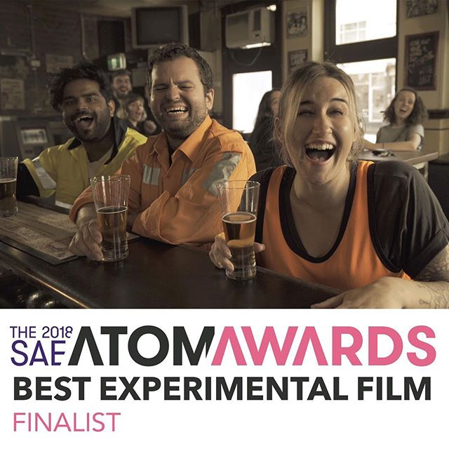"Taxi! has been nominated for ""Best Experimental Film"" in one of Australia/NZ's biggest industry award things, ATOM."