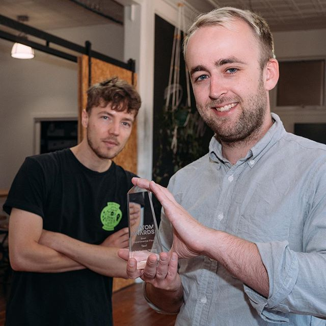 We won an ATOM Award for Taxi! Shout out to the small army of people who made it happen.