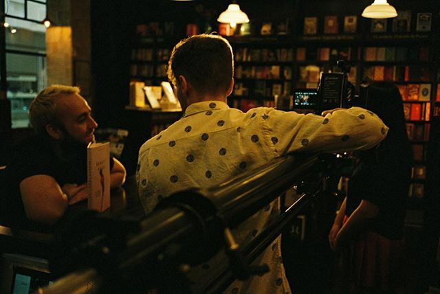 A cosy behind the scenes shot from a TVC we did for Robinson's Bookshop 📸 @ericdittloff