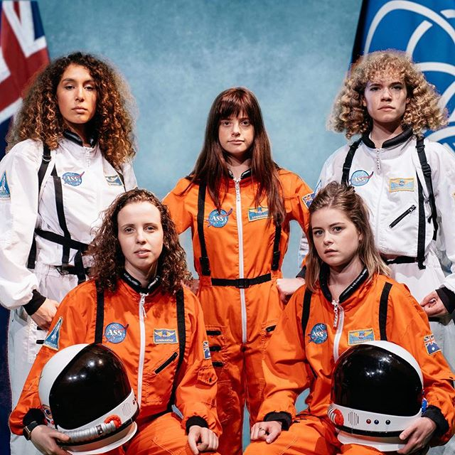 A fun shoot I did for @spaceforceau an upcoming indie sketch show at Melbourne International Comedy Festival this year. Go see it!