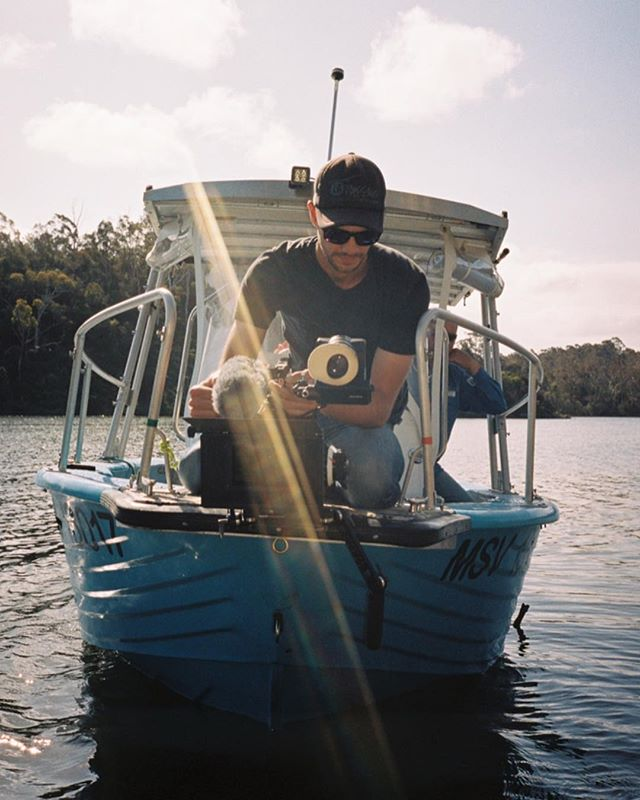 On the water directing a spot for Visit Gippsland via @burninghousehq