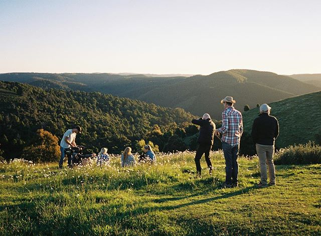 More stunning views and glampervans 🎥 with @burninghousehq for Visit Gippsland