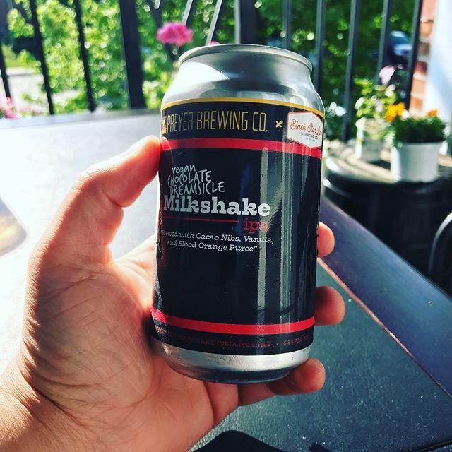 It's a beautiful day! Got your Milkshake IPA?! #howyoushaking #bslb #sweetbeermovement