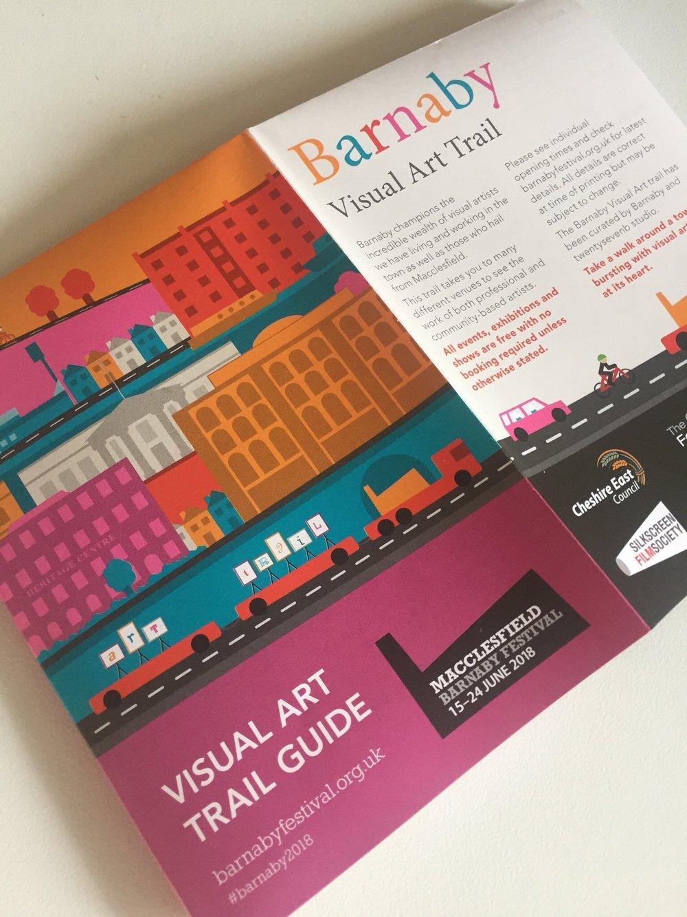 Visual Art Trail Guide