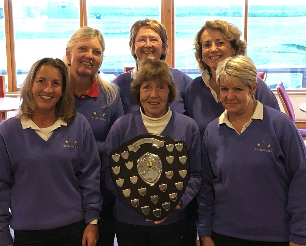 St Idloes. Winners of the MWCGA Handicap League 2018