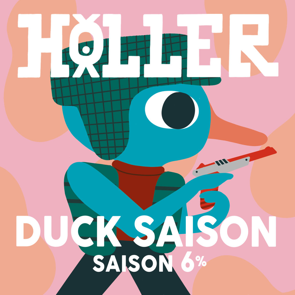 DUCK-sAISON-beer-holler-brewery-brighton