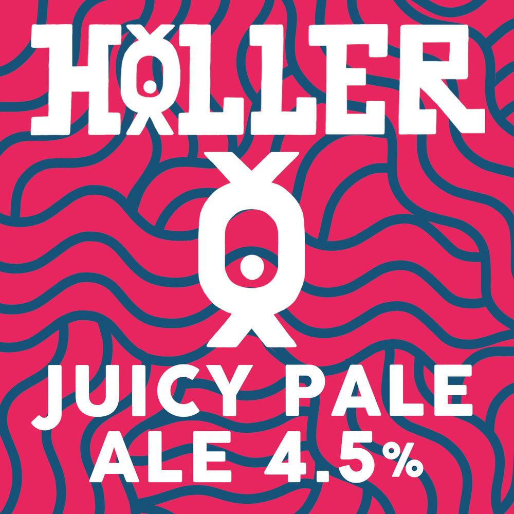 Holler Juicy Pale Ale 4.5%