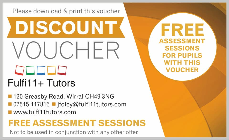 Use this Discount Voucher to receive a free assessment session.