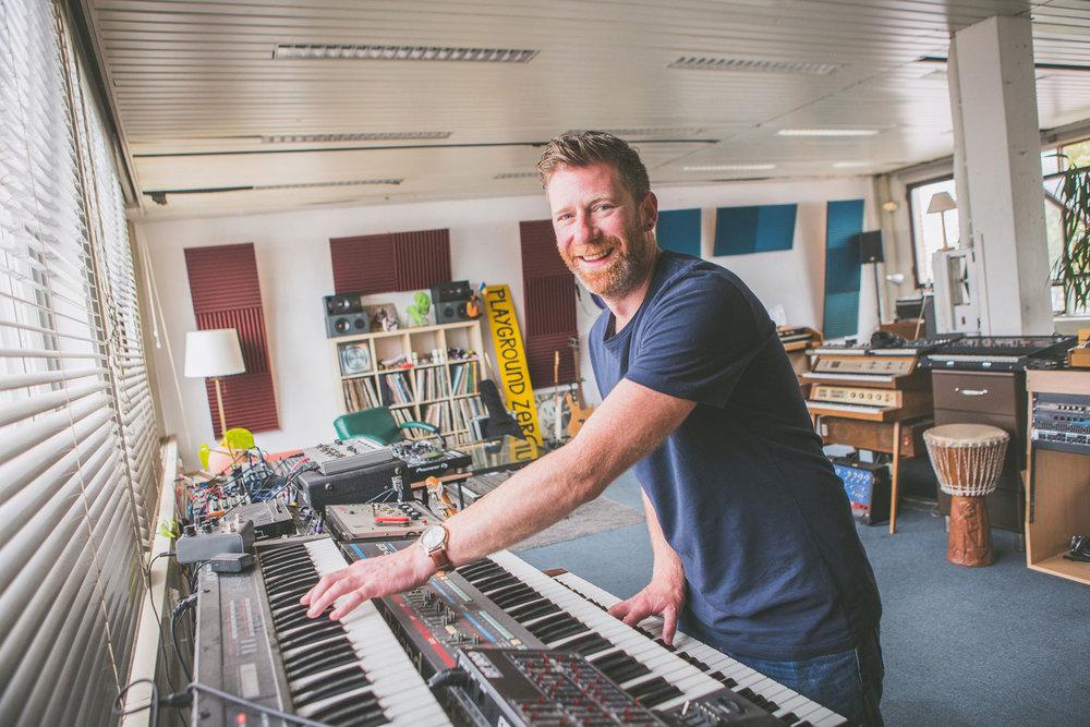 Muziek maken - muziekstudio's