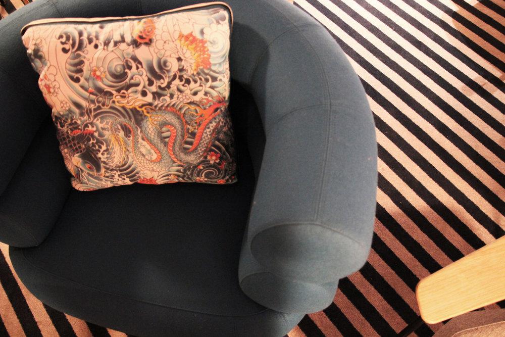 Lounge - Cushions : Jean-Paul Gautier