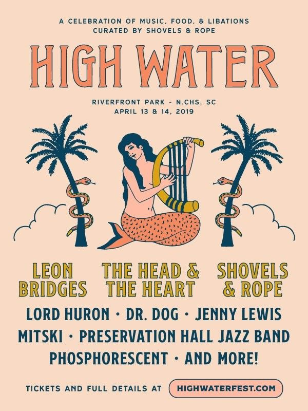 SAVE YOURSELF WITH A TREAT AT   HIGH WATER! -