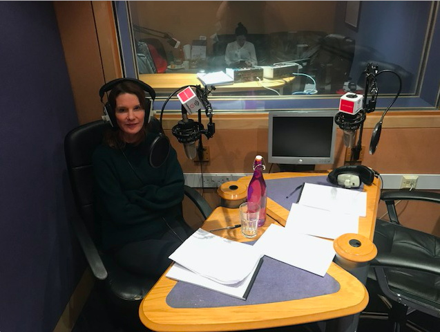 Countdown's Susie Dent spreading the good word!