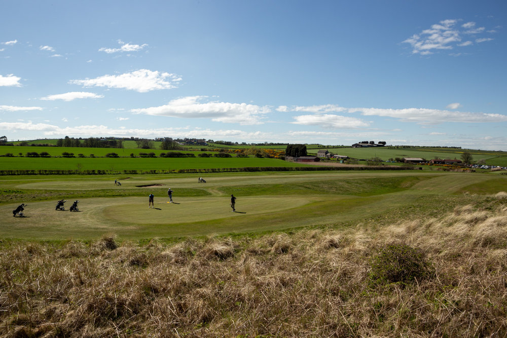 7th Green - Dunstanburgh Castle Golf Course