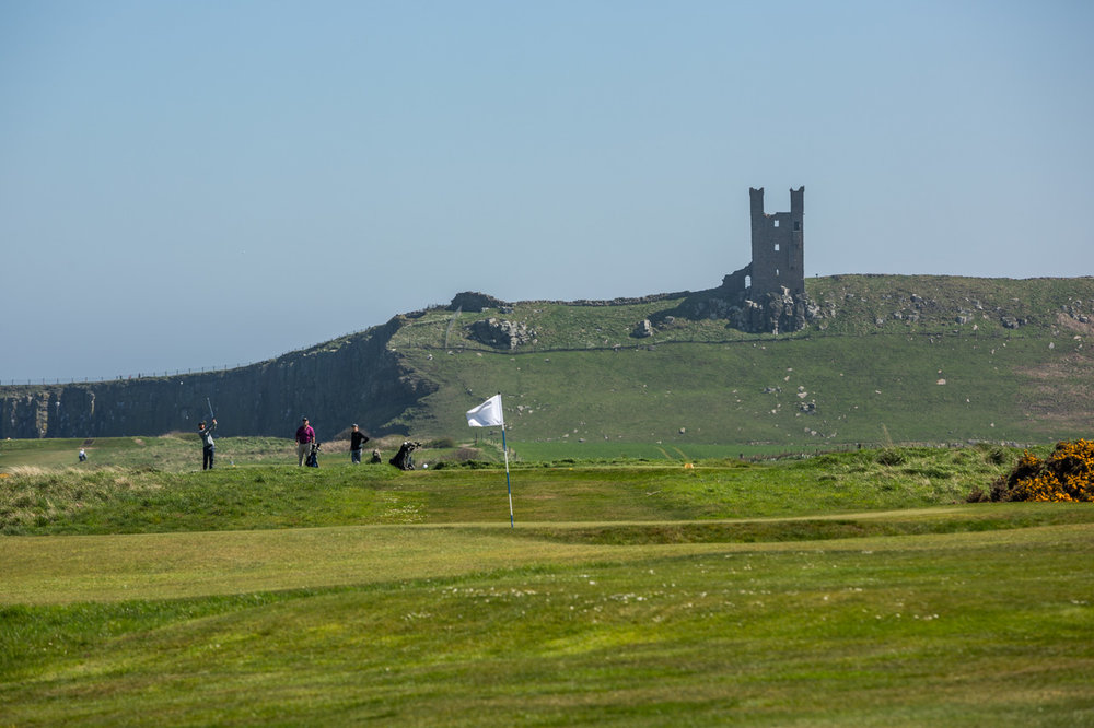 15th Hole - Dunstanburgh Castle Golf Course