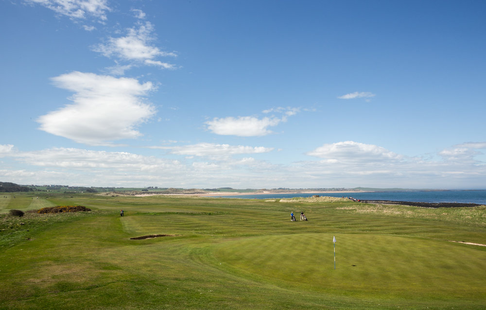 12th Hole - Dunstanburgh Castle Golf Course