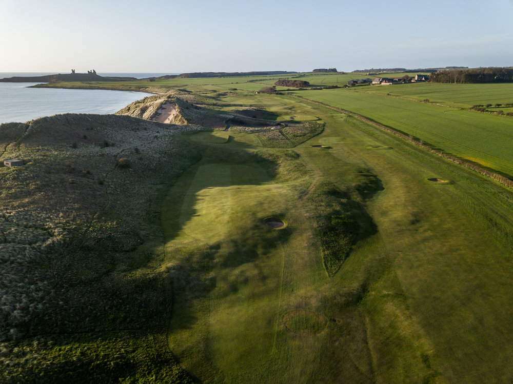 7th Hole - Dunstanburgh Castle Golf Course