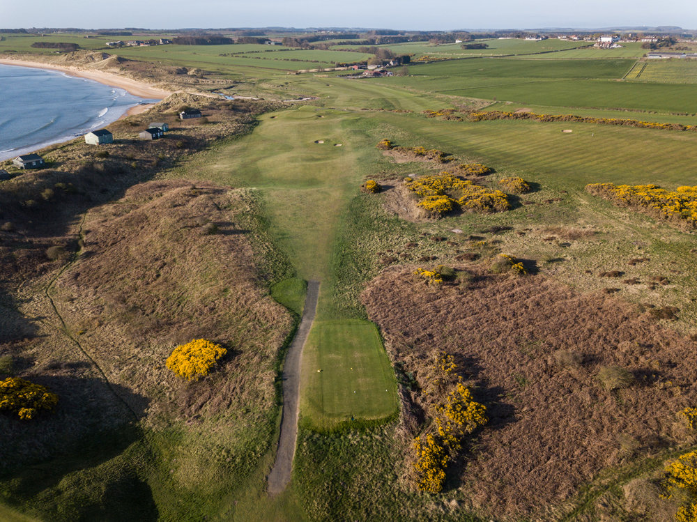 5th Hole - Dunstanburgh Castle Golf Course