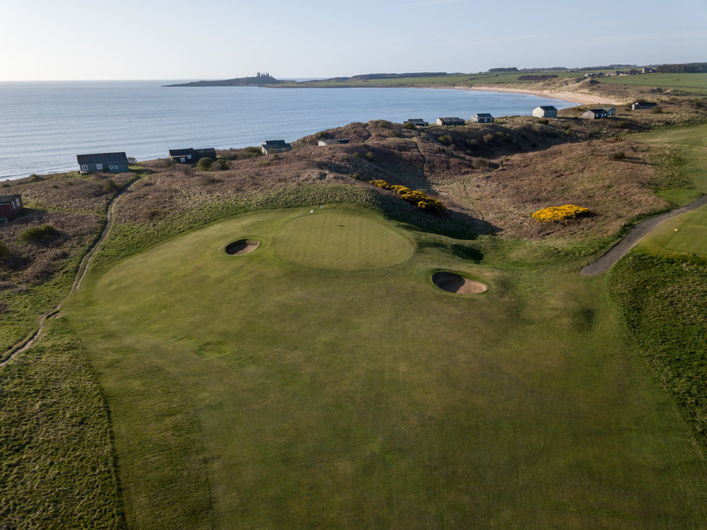 4th Hole - Dunstanburgh Castle Golf Course
