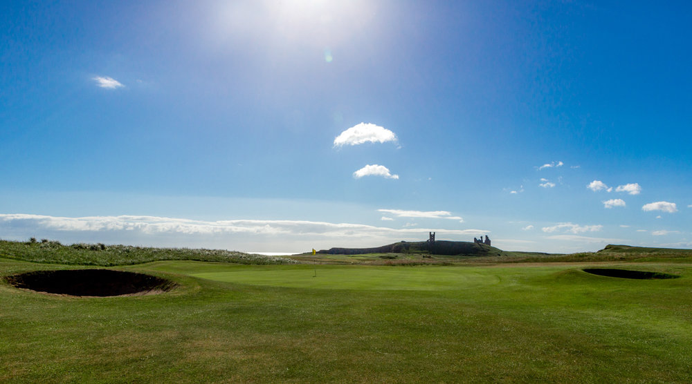 9th Green - Dunstanburgh Castle Golf Course