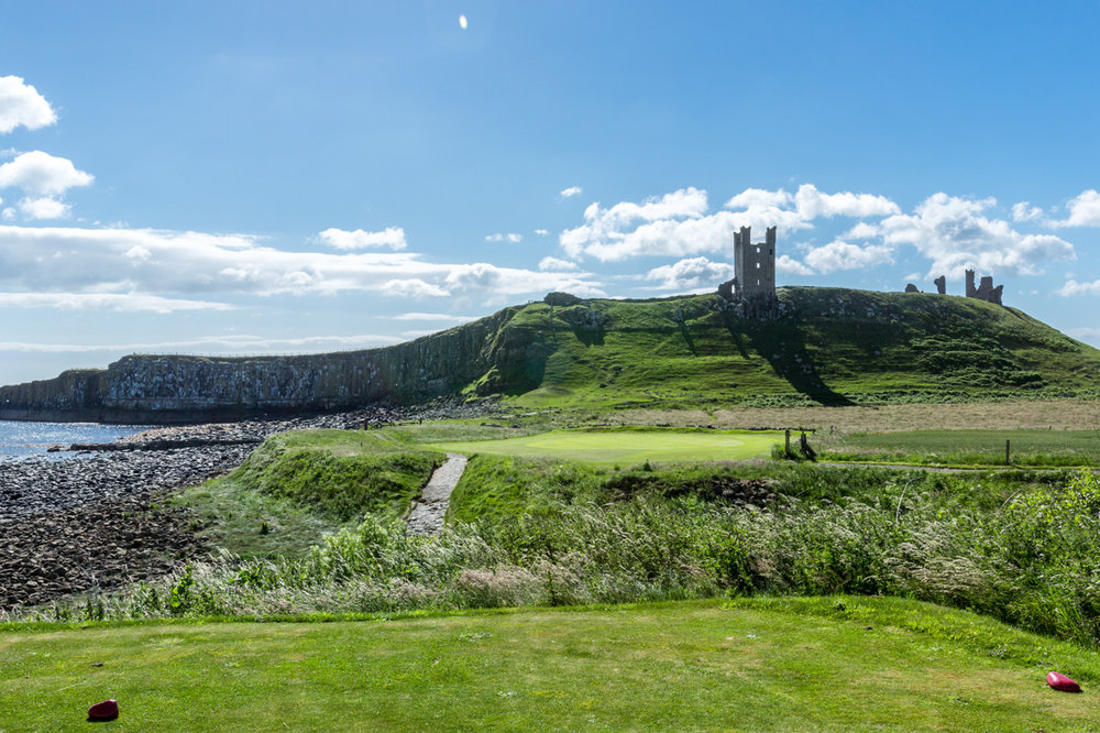 13th Hole - Dunstanburgh Castle Golf Course