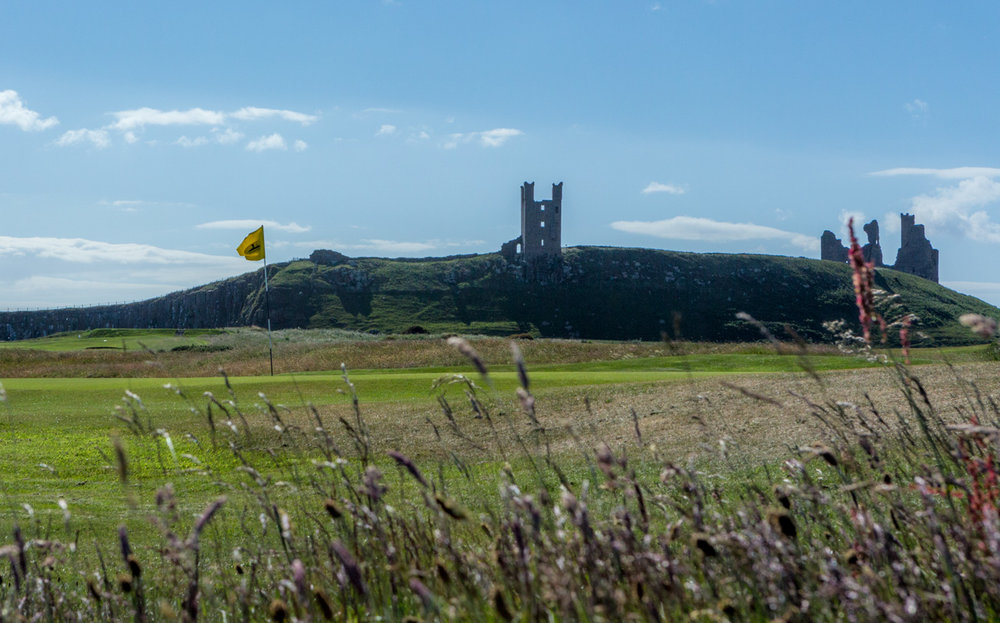 11th Green - Dunstanburgh Castle Golf Course