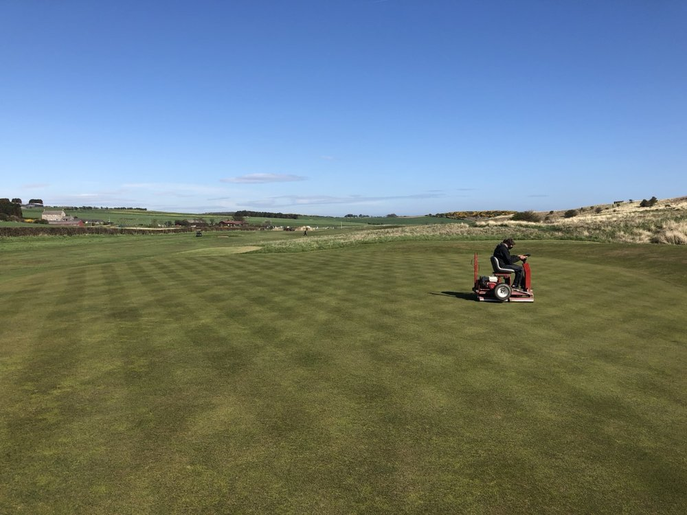 Greens Consistency and Performance this year has been some of the best ever at Dunstanburgh