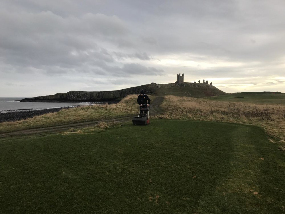 The new 11th medal receiving its first cut, we are pushing for this tee to be in play for the Texas Scramble in March but it will all depend upon the weather behaving itself.