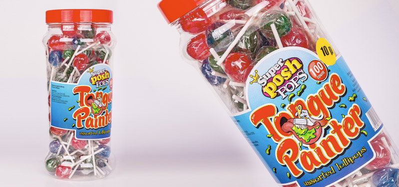Super Posh Tongue Painter Pops