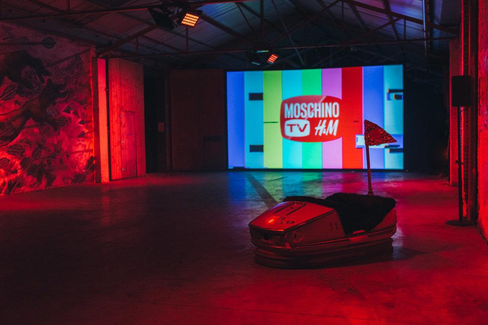H&M Moschino -