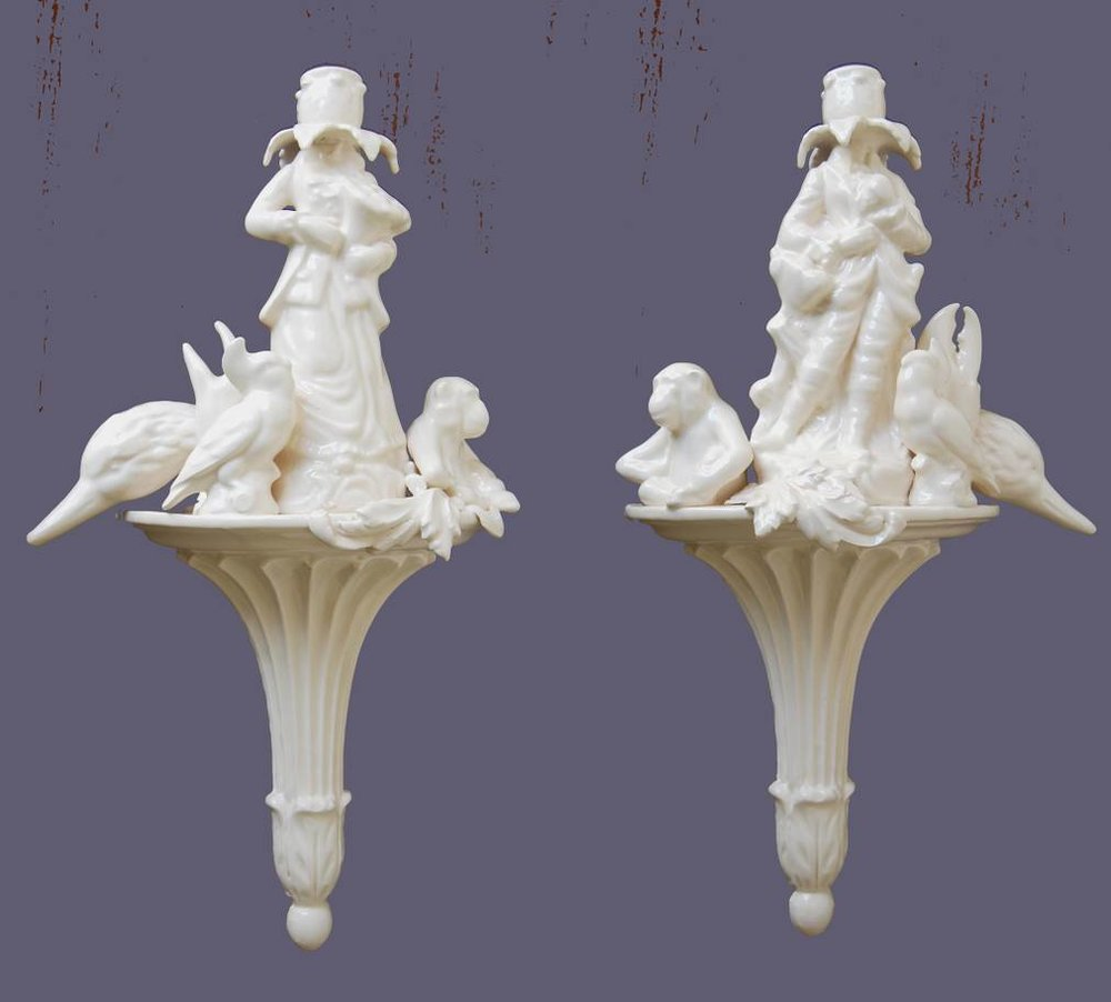 Matt Smith,  Pair of Wall Sconces , 2014, Ceramic
