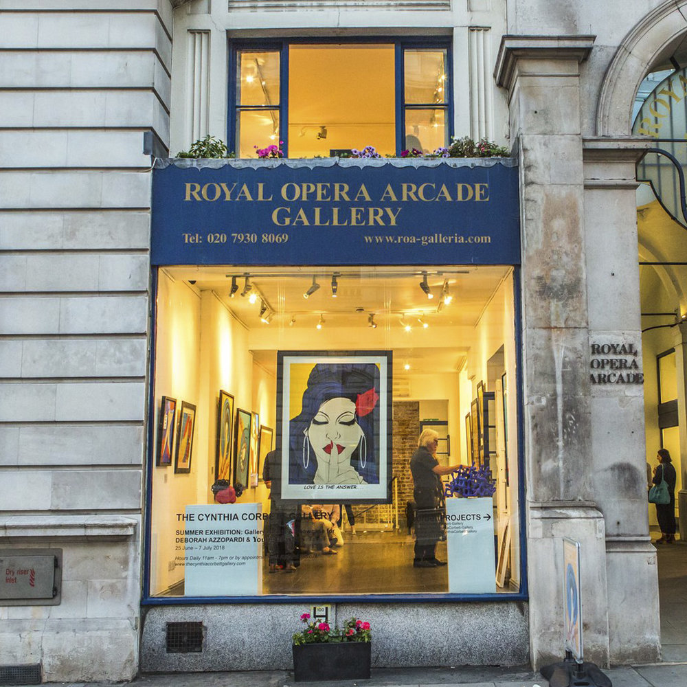 Summer Exhibition | Royal Opera Arcade Gallery | London
