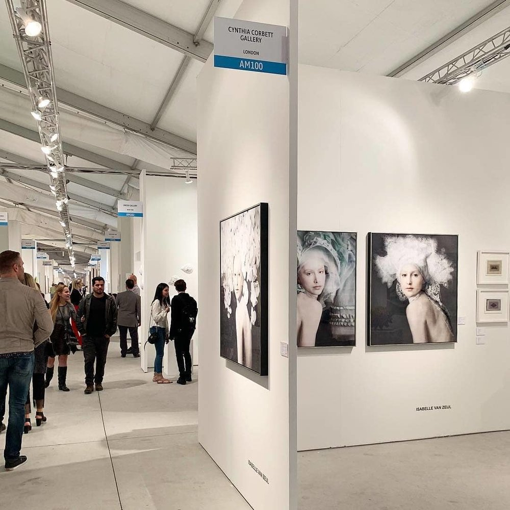 The Cynthia Corbett Gallery booth at Art Miami