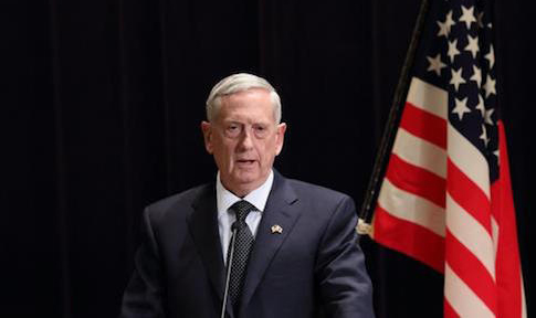 Trump's defense chief cites climate change as national security challenge