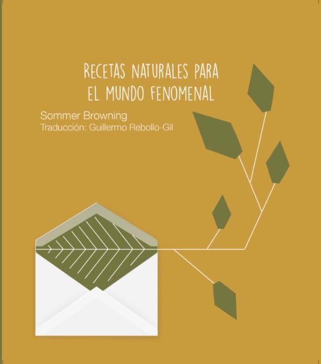 Recetas Naturales Para el Mundo Fenomenal, poetry, Ediciones Aguadulce