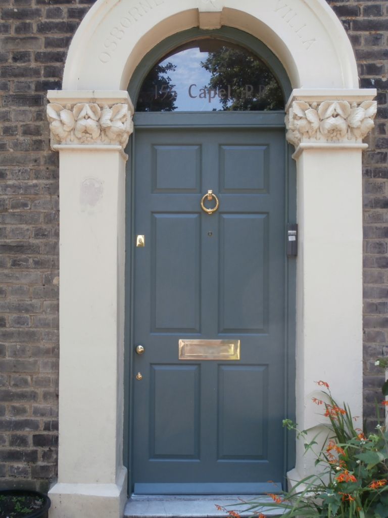 Colonial Style Front Door