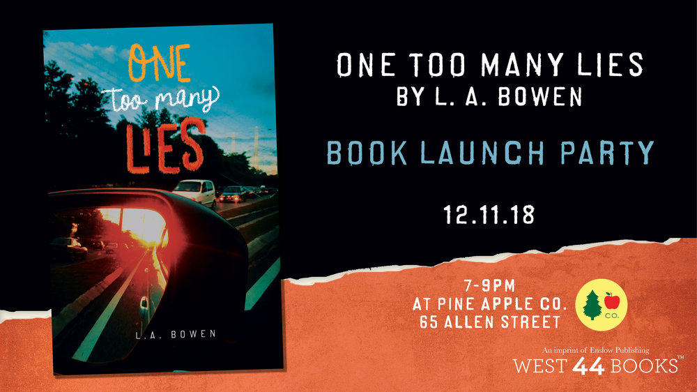 12.11.18 - Book Launch Party!  Dec. 11th, 2018 @ 7-9pm Pine Apple Company 65 Allen Street, Buffalo, NY