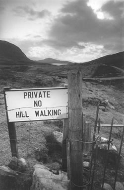 No Hill Walking