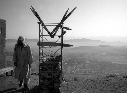 TV Tower overlooking Kabul
