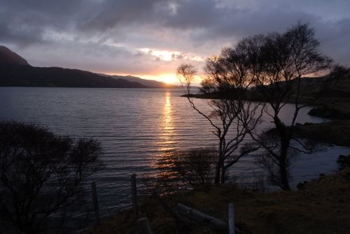 Loch Assynt in Sutherland