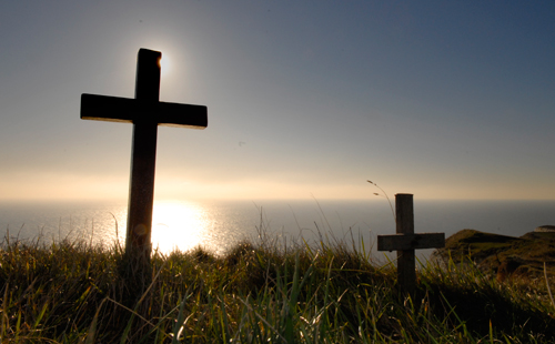 Crosses at Beechy Head