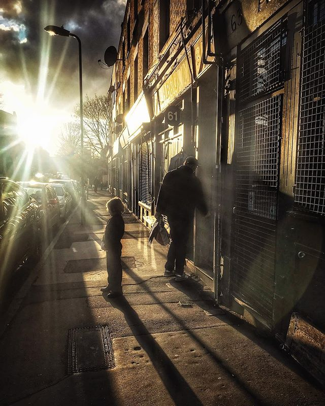 The warmth of spring sun at last. #snapseed #iphoneonly #hackney #londonfields #contrajour #springtime #light