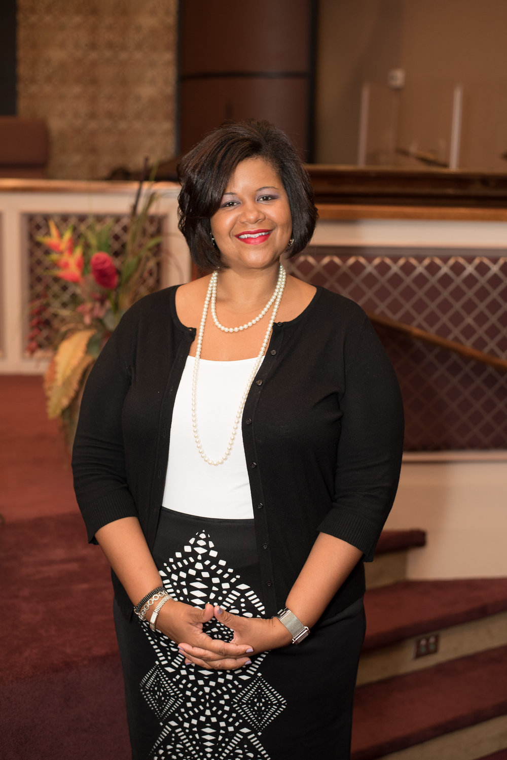 Pastor Mary Mitchell,NuYouth & College Students