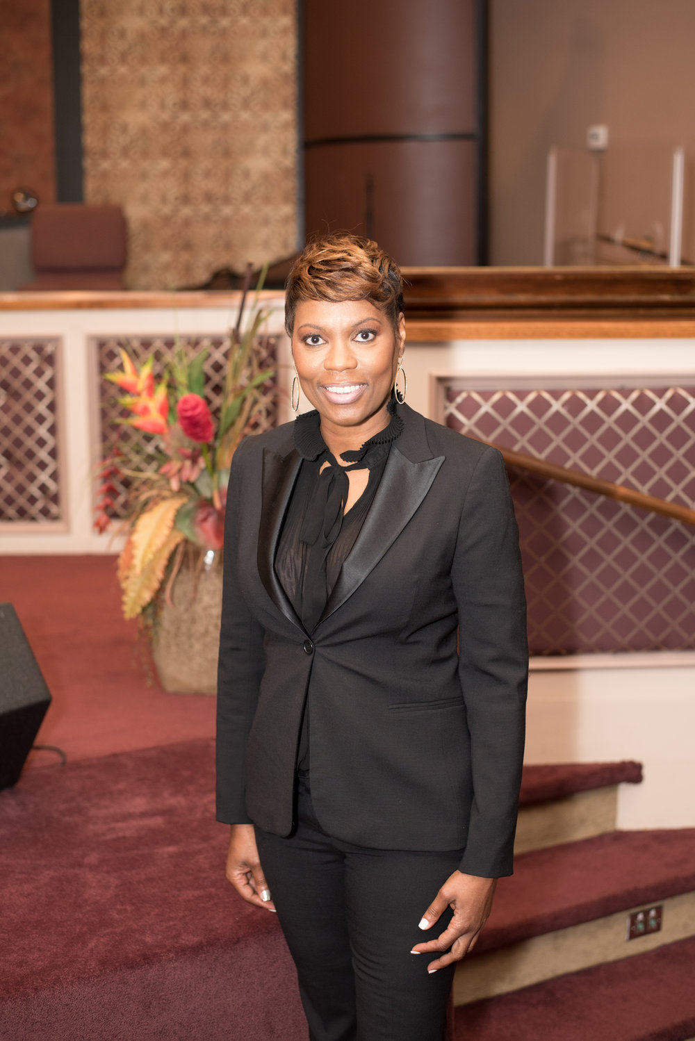 Pastor Deneice Henderson, Executive Administrator to Bishop Malone