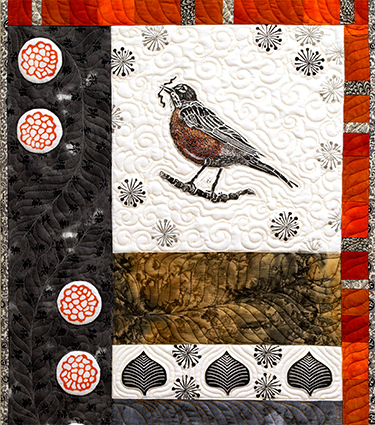 """Robin Squared"" (detail)"