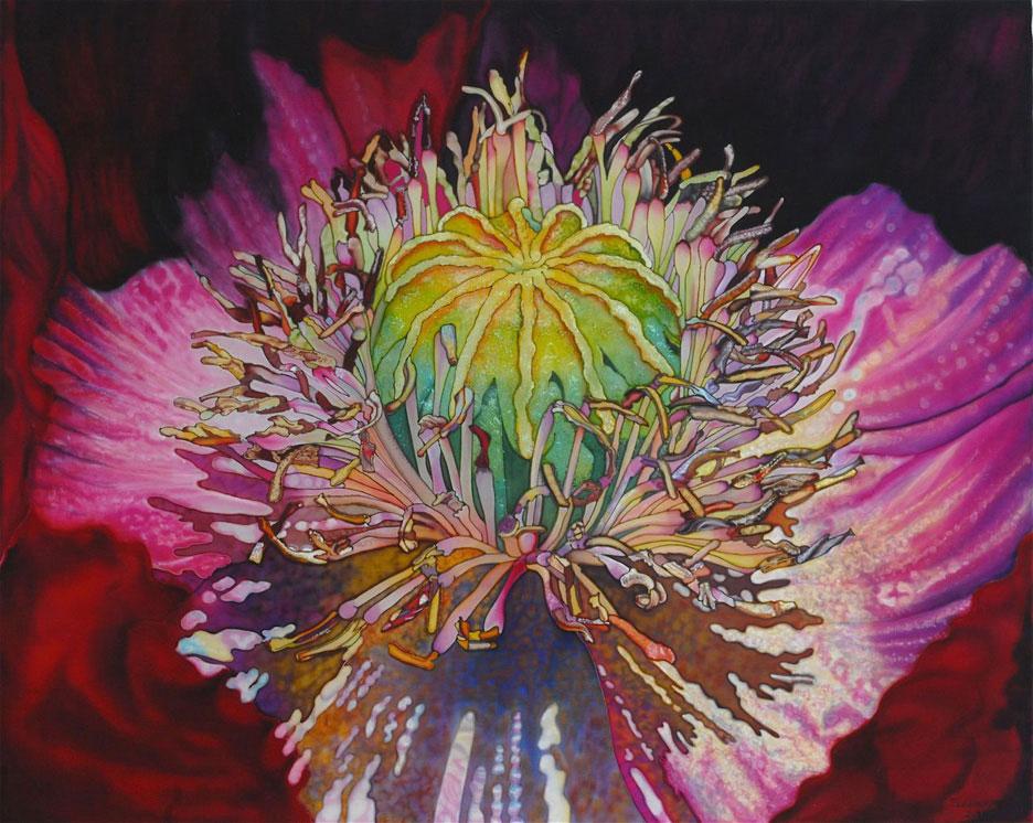 """Flowering at Center"""