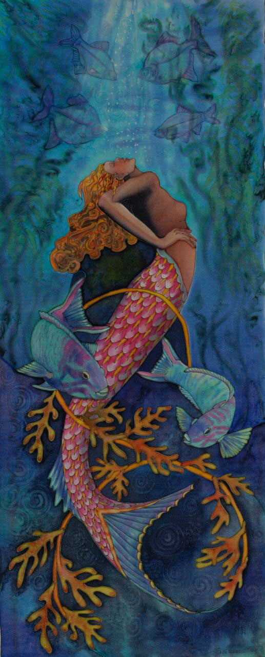 """Mermaid with Two Fish"""