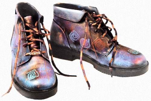 Funky Painted Boots