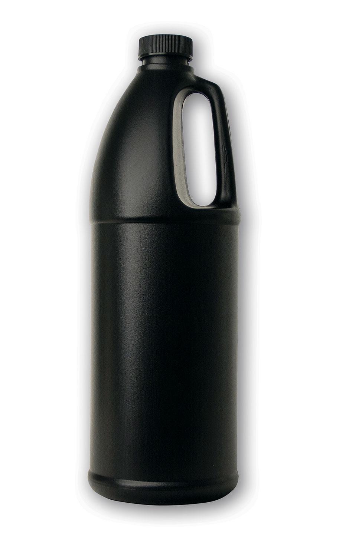 1 qt Opaque Black Jug#(plastic w/cap)#Item ACC2105